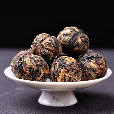 Premium Yunnan Red Tea Ball Dragon Pearl Dian Hong Black Tea Ball T212