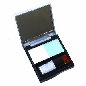 Eye-Shadow-Liner-Cosmetic-Make-Up-Technic-Shimmer-Palette-Blue-and-White