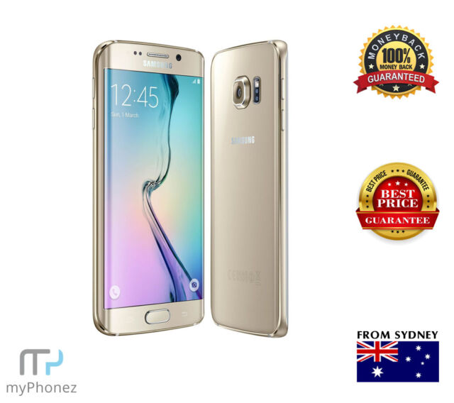 Original Samsung Galaxy S6 Edge SM-G925I 4G LTE 64GB GOLD Unlocked, Oz Seller