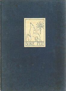 College-Yearbook-Wheaton-College-Norton-Massachusetts-MA-Nike-1937