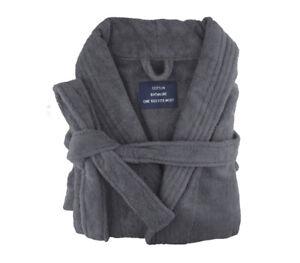 Egyptian Cotton Terry Toweling Bathrobe,Unisex,bath robe,Bathrobe,6 Colours