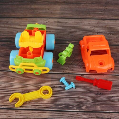 Creative Car Toy Wheels Kids Toys DIY Screw Nut Assembly Educational Toy Gift