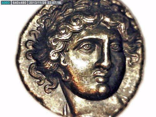 2ROOKS GREEK GREECE MACEDON AMPHIPOLIS TOMB TETRADRACHM COIN APOLLO TORCH GIFT
