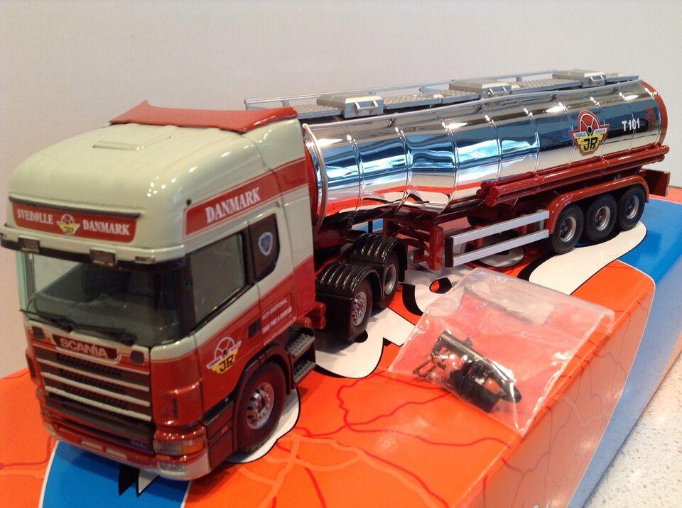 Modellastbil, Tekno Svebølle, skala 1:50