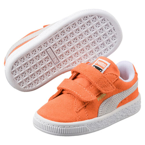 Puma Suede Classic V Inf Kids Sneaker Shoes 365077 15 Orange
