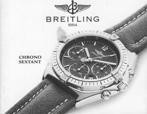 BREITLING-CHRONO-SEXTANT-B55047-ANLEITUNG-INSTRUCTIONS-KEINE-UHR-NO-WATCH-I045