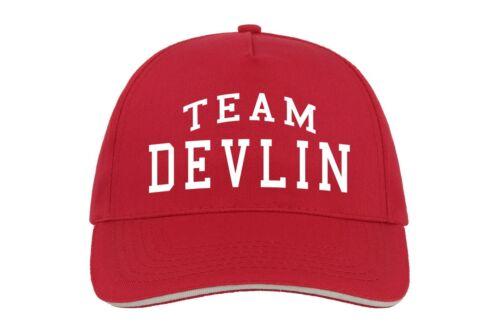 Équipe Devlin Baseball Hat Cap Cadeau Prénom Nom de famille anniversaire cool