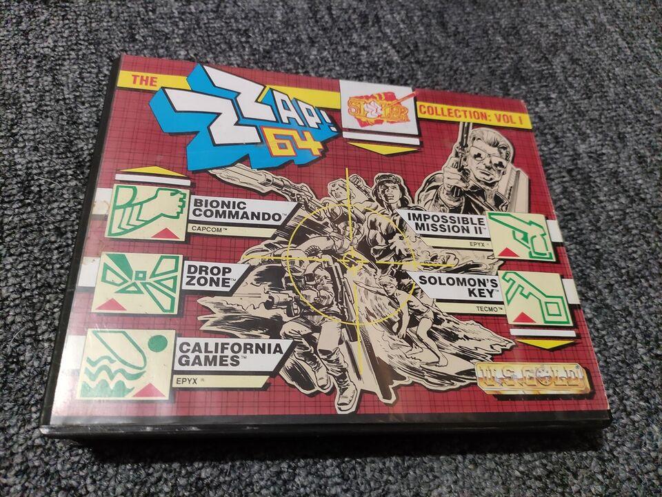 ZZAP! 64 Sizzlers, Commododre 64