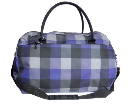 Womens Weekender Travel Bag Ladies Overnight Maternity Hand Luggage Gym Holdall