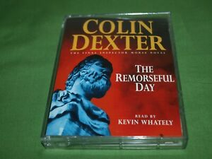 Colin-Dexter-034-The-Remorseful-Day-034-Cassette-Audio-Book-Read-by-Kevin-Whately