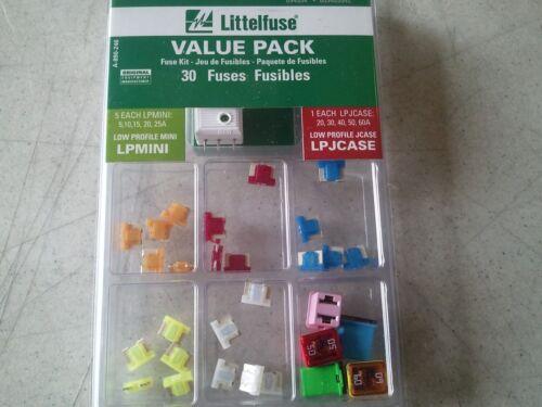 Master Low Profile Mini and Low Profile J-case Fuse Assortment