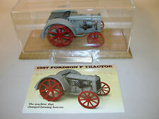 TRACTOR FORDSON-1927 F FARM TRACTOR DANBURY MINT DIECAST 1:16 WITH DISPLAY
