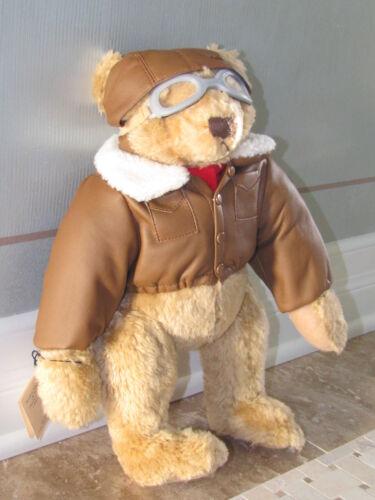 ACE 1998 TEXACO FLYING PIONEER PLUSH TOY BEAR THE BEAR BOX MIB