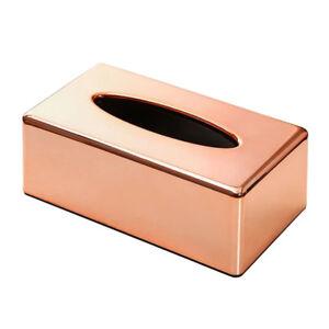 Roségold Multifunktion Tissue Box Kunststoff Kosmetiktücher