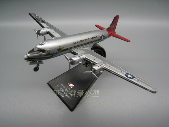 1 Model Aircraft Diecast Airfreighter WWII Skymaster 54 C