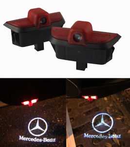 Led Car Door Welcome Projector Logo Courtesy Ghost Shadow Light For C Class W204 Ebay