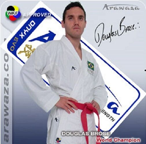 BRAND NEW  Arawaza ONYX EVOLUTION Karate Suit Gi MARTIAL ARTS 7oz WKF APPROVED  after-sale protection