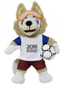 World Cup 2018 coupe du monde de football Russie zabivaka mascotte 28 cm