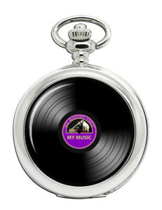 DJ-Record-Purple-Label-Pocket-Watch
