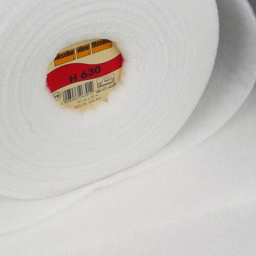 Vilene VLH630 Iron On Fusible Fleece ~ Low Loft Volume Fabric quilt wadding