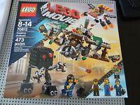 Lego The Movie- 70812 Creative Ambush - 4 Minifigures - In Box Retired