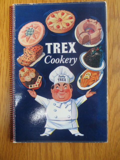 Vintage BAKING TREX Cookery Book Booklet OLD 1958 Pastry Cakes Recipes