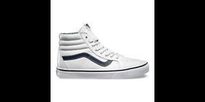 Vans Sk8-Hi Reissue Leather White