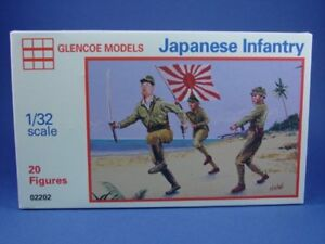 GLENCOE-MARX-WWII-Japanese-Infantry-Playset-TAN-20-Toy-Soldiers-Recast-Army-Men