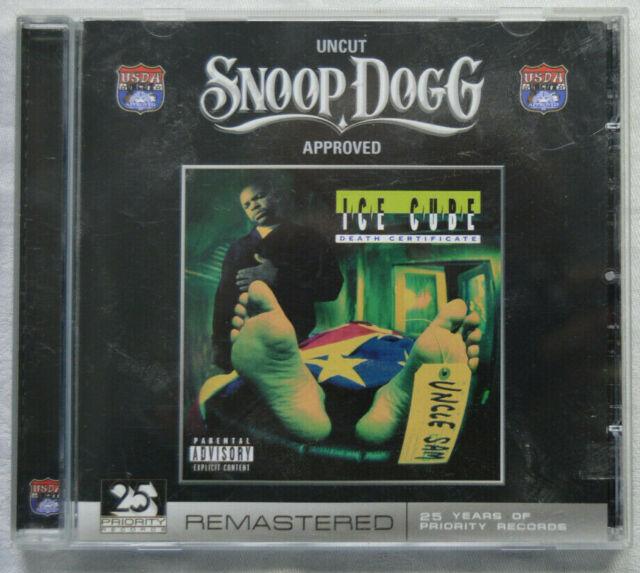"""Death Certificate"" Ice Cube 20 Track Rare Audio Disc"