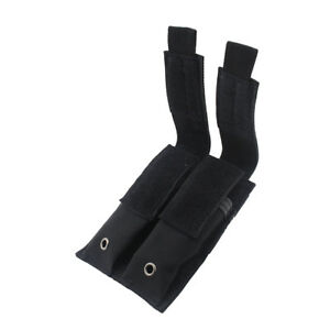 Tactical-MOLLE-Black-Double-Magazine-Pouch-Holder-Pistol-Mag-Holder-for-Hunting