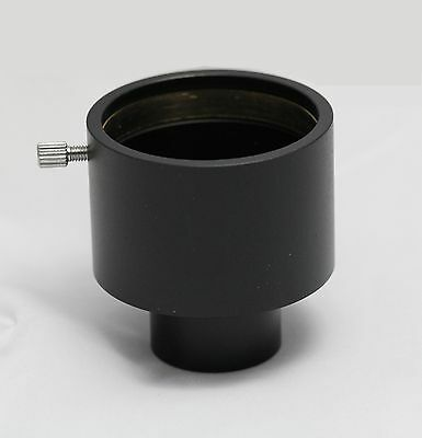"""New Anodized Aluminum Telescope Eyepiece 1.25"""" to 2"""" 2 Inch Adapter Thread"""