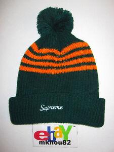 17405161 Supreme Loose Gauge Green Beanie Hat camp 5-Panel era box logo Fall ...