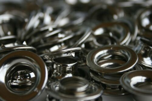96  #2 Nickel Plated Steel Grommets with Spur washers