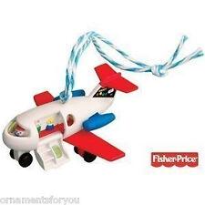 Hallmark 2010 Play Family Jet Fisher Price  Ornament