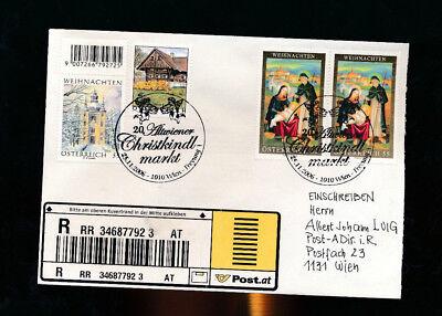 20 Altwiener Tropf-Trocken WunderschöNen Reco-brief Aus 1010 Wien 2006 Mit Weihnachts-sonderstempel f11