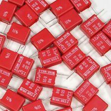 20x Wima 22uf 10 50v Mks 3 Metallized Polyester Capacitor Pet Film