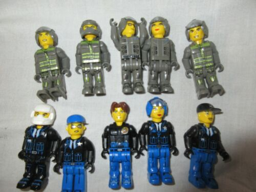 LEGO JACK STONE mini 4 Juniors figures Pirates police Builders choisir joblots