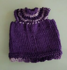Knitting-Dress-Miniature-For-Approx-4-11-16-5-1-8in-Bear-Or-Doll