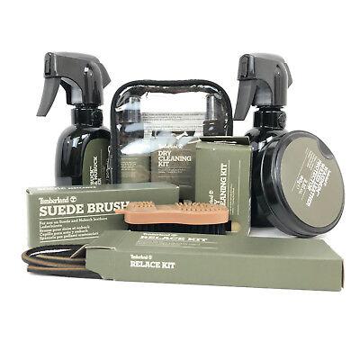 Timberland Schuh Pflege Leder und Wildleder Protector Dry Cleaning Kit Veloursleder Bürste | eBay