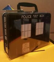Doctor Who Top Trumps TARDIS Tin Lunch Box