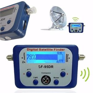SF-95DR-Digital-Satellite-Signal-Meter-Finder-Directv-Dish-with-Compass-FAT