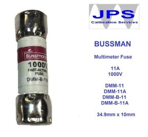 BUSSMANN-DMM-11A-FUSE-1000V-Replacement-Fluke-Fuse-803293-for-Test-Leads-JPSF033