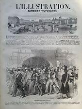 """L'ILLUSTRATION 1847 N 246 """" DEMONSTRATION POLITIQUE A BERNE (Suisse)"""