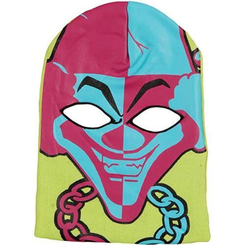 Virtis ICP Insane Clown Posse Carnival One Size Beanie Ski Mask NWT