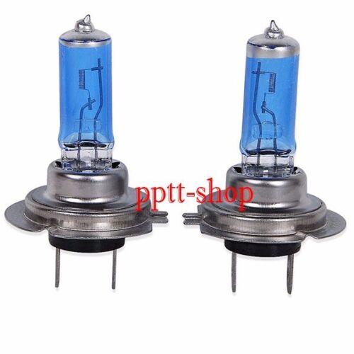 Combo 2 Pair H7 Halogen Xenon Headlight White 5000K 100w Light Bulb Hi//Low Beam