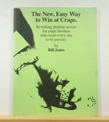 The New, Easy Way to Win at Craps 1977 Bill Jones Gambling Tips Advice
