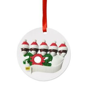 2020 Ornament Personalized African Family with Mask Christmas Tree Hanging Decor | eBay