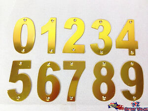 Aluminum-Alloy-House-Numbers-Street-Numbers-House-Fence-Letterbox-w-Screws-Gold