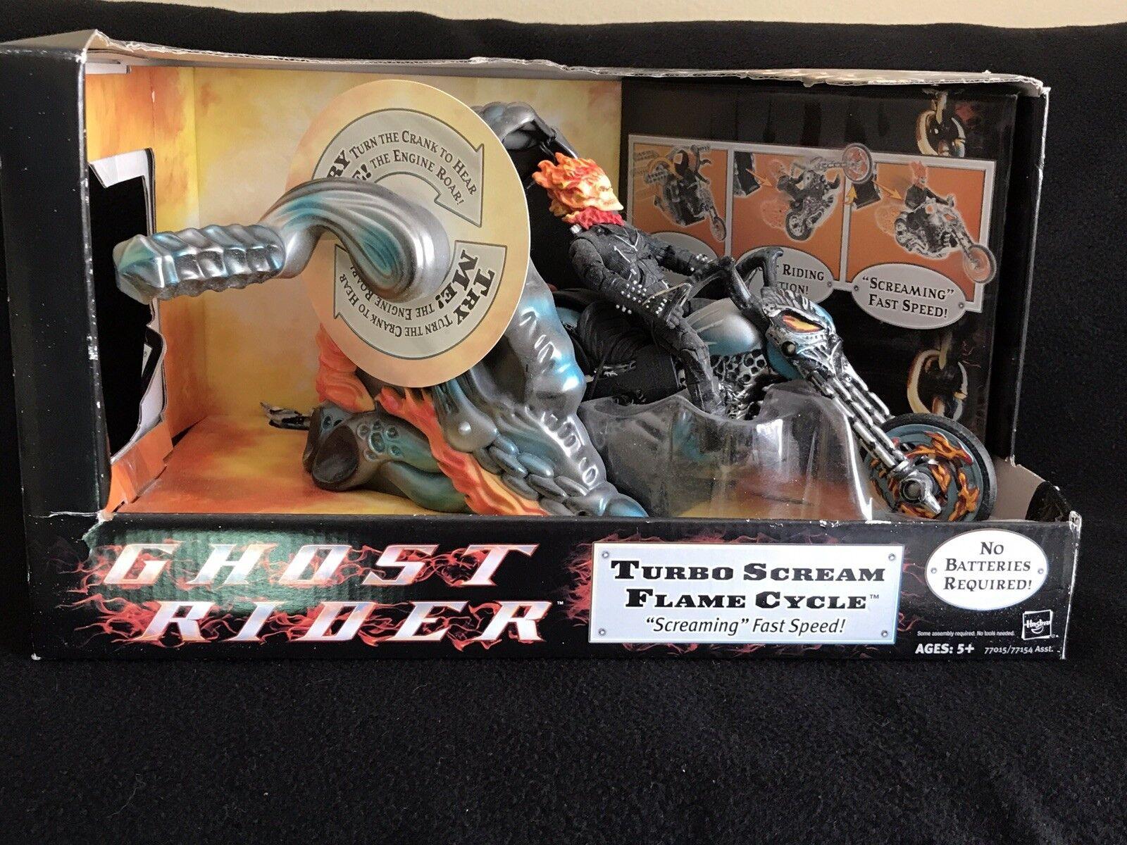 Ghost rider turbo.schreien.flamme zyklus w   marvel - legenden abbildung