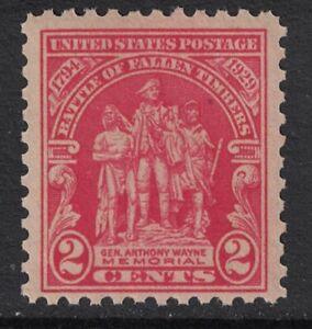 Scott-680-Mnh-Batalla-de-Fallen-Maderas-Wayne-Memorial-2c-1929-Nuevo-Mint